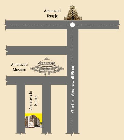 Amaravathi Location Plan